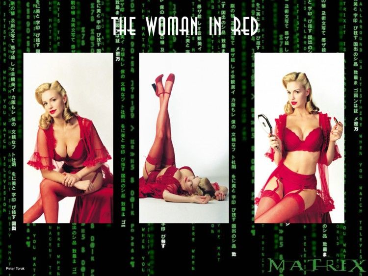 matrix the woman in red - Google Search