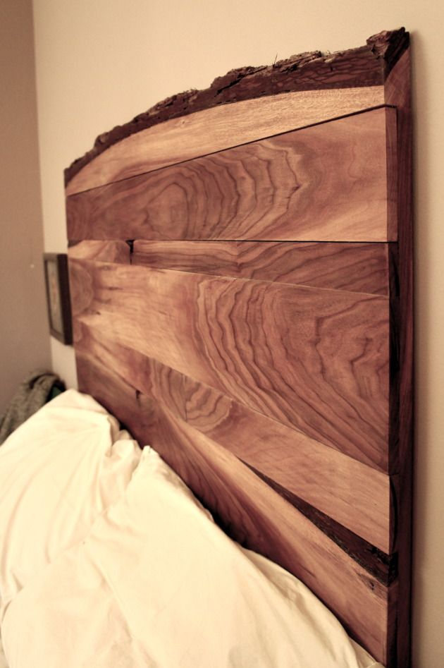 buy popular df8a7 9a60b Live Edge Headboard. Black Walnut | Wood Slabs & Slab ...