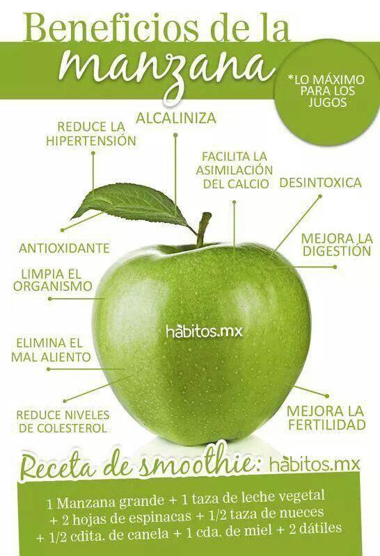 beneficios y propiedades de comer manzanas
