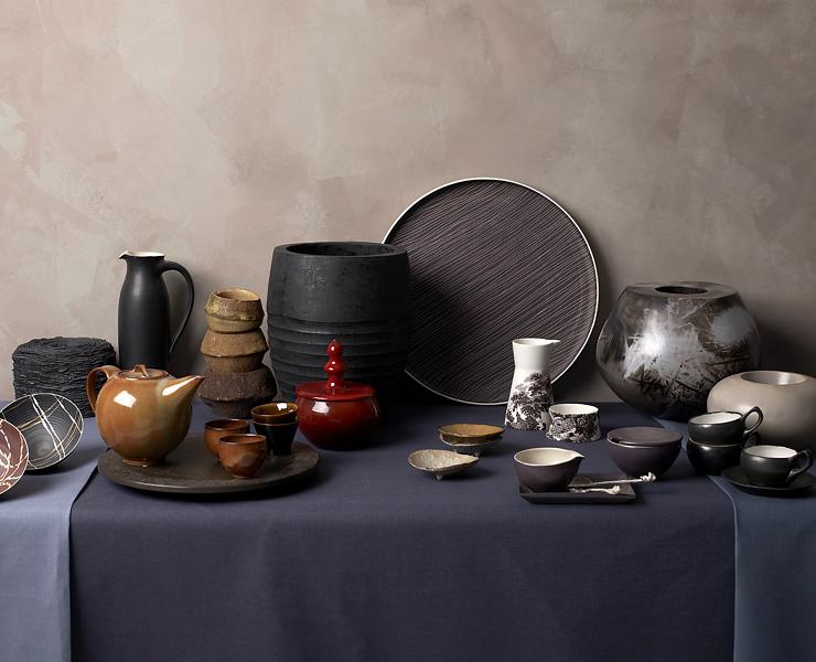 Handgemachte Vasen und Geschirre - Vasen, Schalen, Gläser - [SCHÖNER WOHNEN]