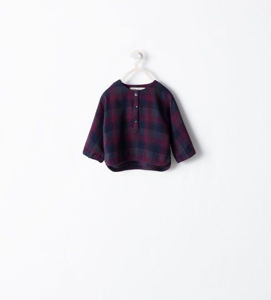 ZARA - MINI - Chemise à carreaux