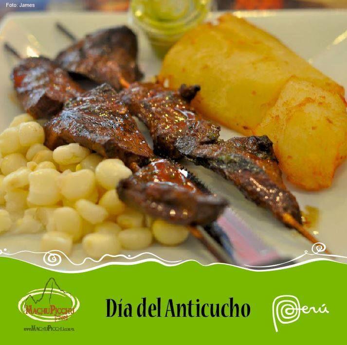 Anticucho  - Gastronomía Peruana