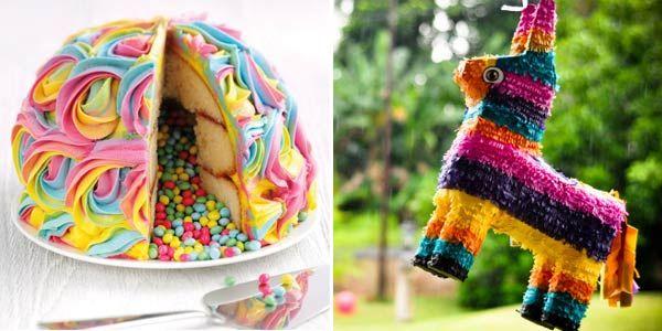 Asda Christening Cake Decorations : Pinata cake ASDA food Pinterest Pinata cake, Chang e ...