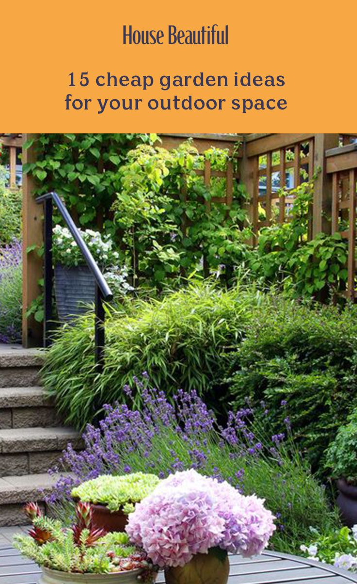 Looking for some cheap garden ideas? It's easier than you think to give your garden a budget-friendly makeover. We've listed some quick fixes to help you save cash whilst making your outdoor space look fantastic, which in turn will enable you to spend more time enjoying your outdoor sanctuary. Try these easy garden ideas on a budget, perfect for patio areas or gardens of any size.