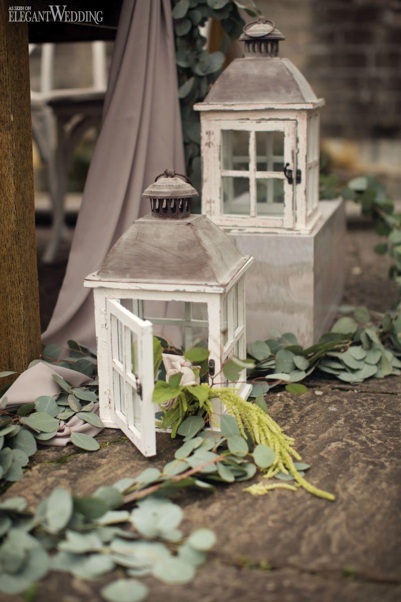 Wedding decoration ideas for home  Tuscan Wedding Decor With Greenery Outdoor Wedding Ideas