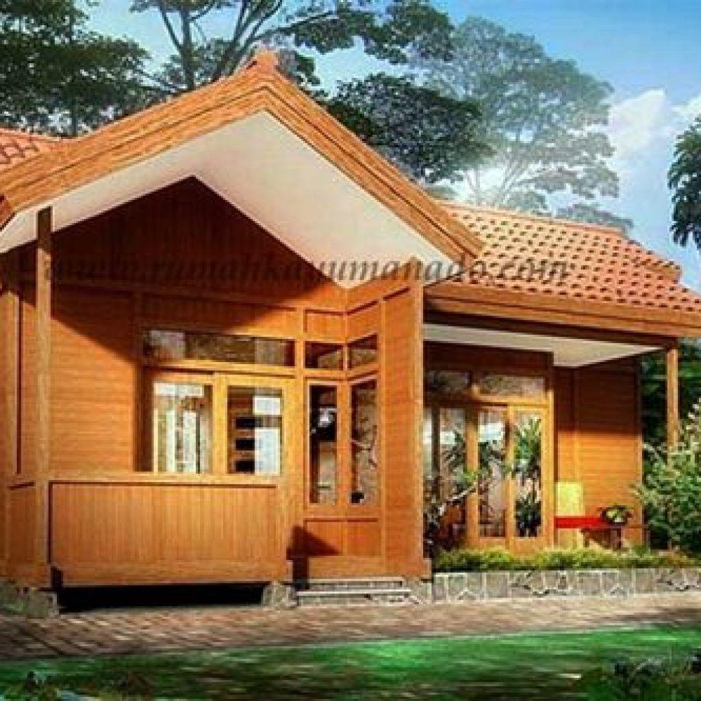 Desain Atap Rumah Kayu Cek Bahan Bangunan