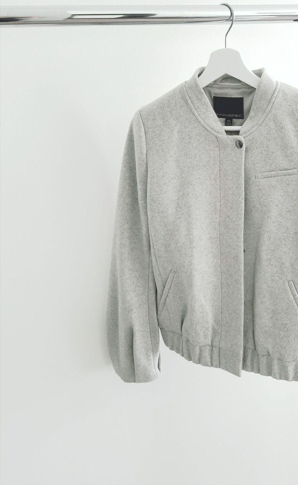 W_Haute_Chic bananarepublicbomberjacket Men sweater