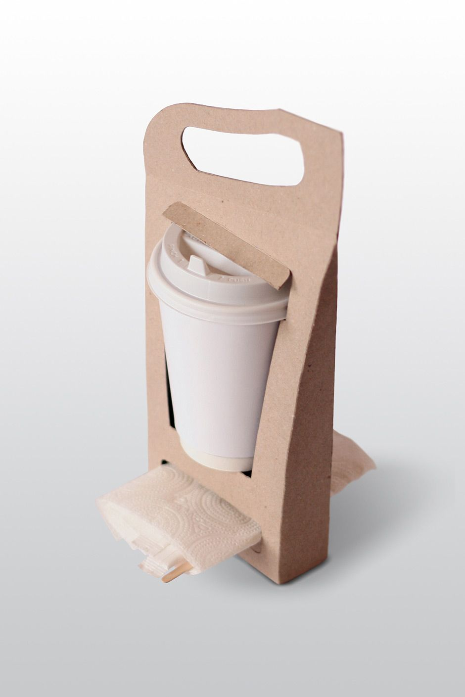 Paper Cup Carrier On Behance