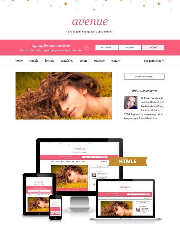 Avenue | Genesis Child Theme. WordPress Blog Themes. $45.00 ...