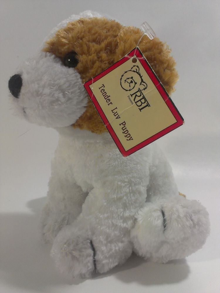 Tender Luv Puppy Dog Plush Stuffed Animal Beanie Ron Banafato