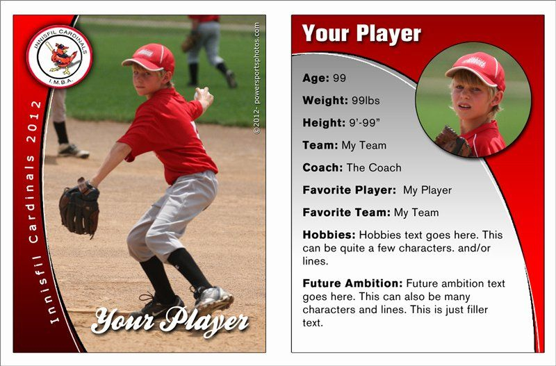Printable Baseball Card Template Unique Free Baseball Card Pertaining To Professional Custom Baseb Baseball Card Template Baseball Cards Baseball Trading Cards