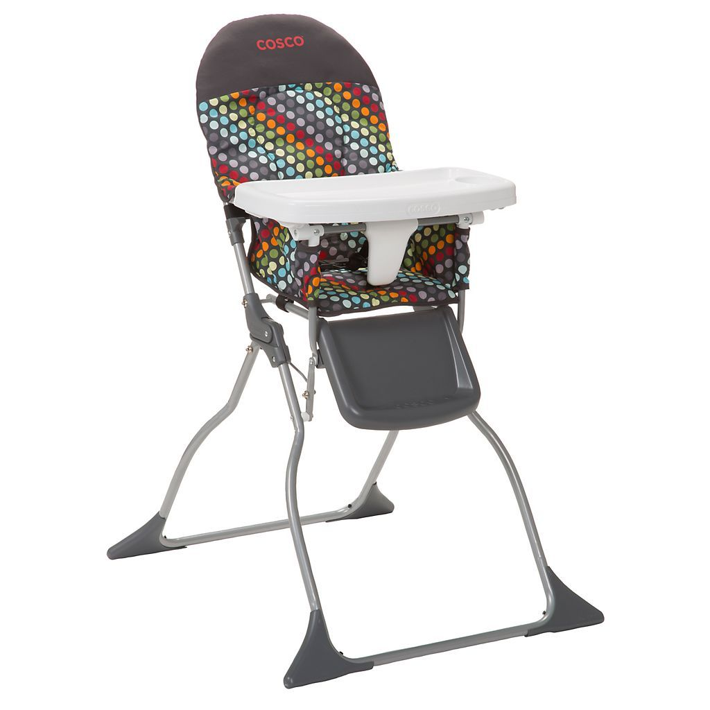 Cosco Simple Fold High Chair It Folds Up Removable Cover