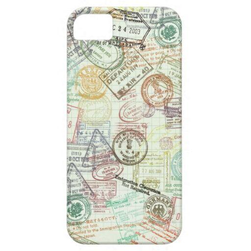 Passport Stamp iPhone 5 Case - Oct 8