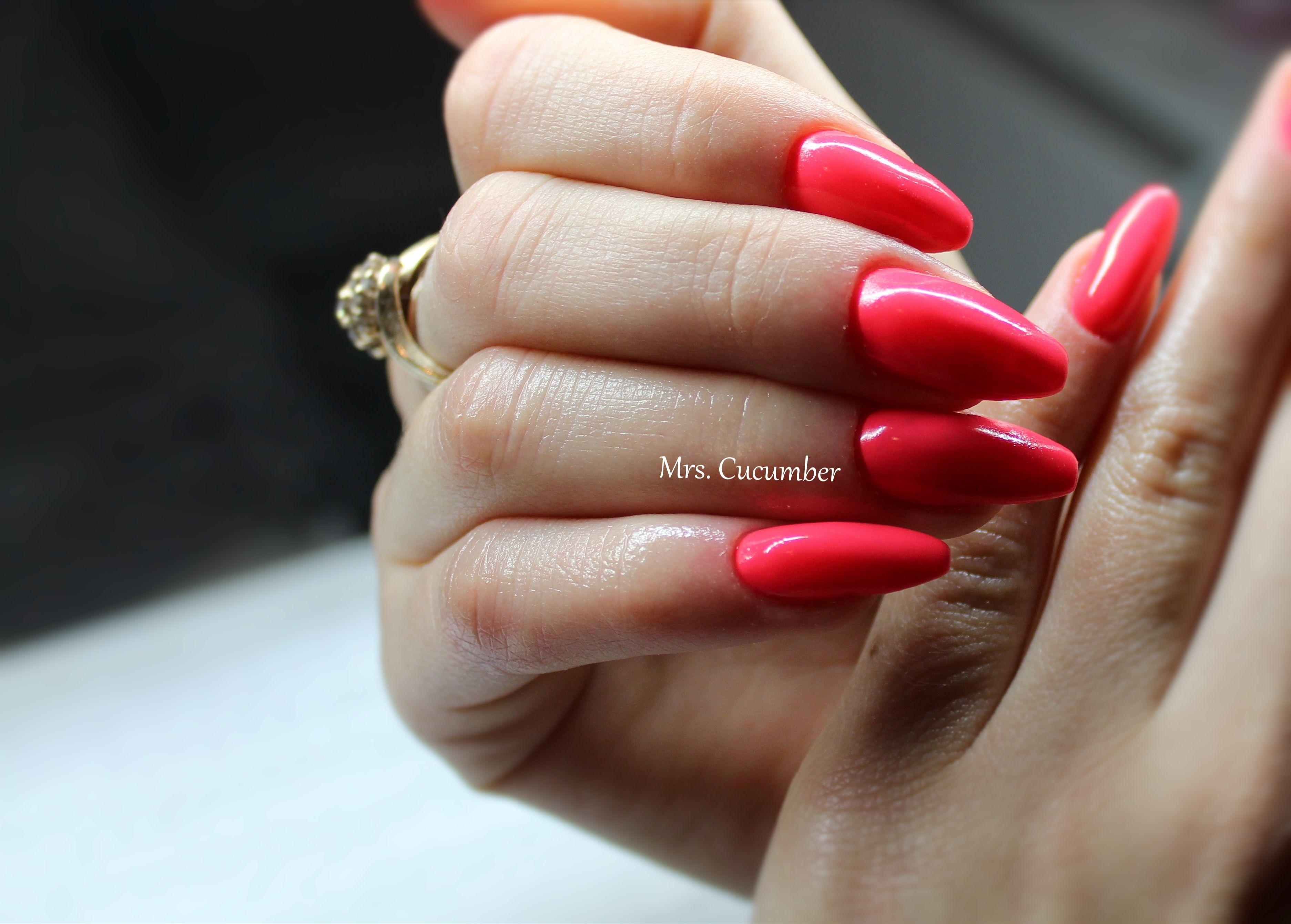Czerwone Paznokcie Red Nails With Images Czerwone Paznokcie