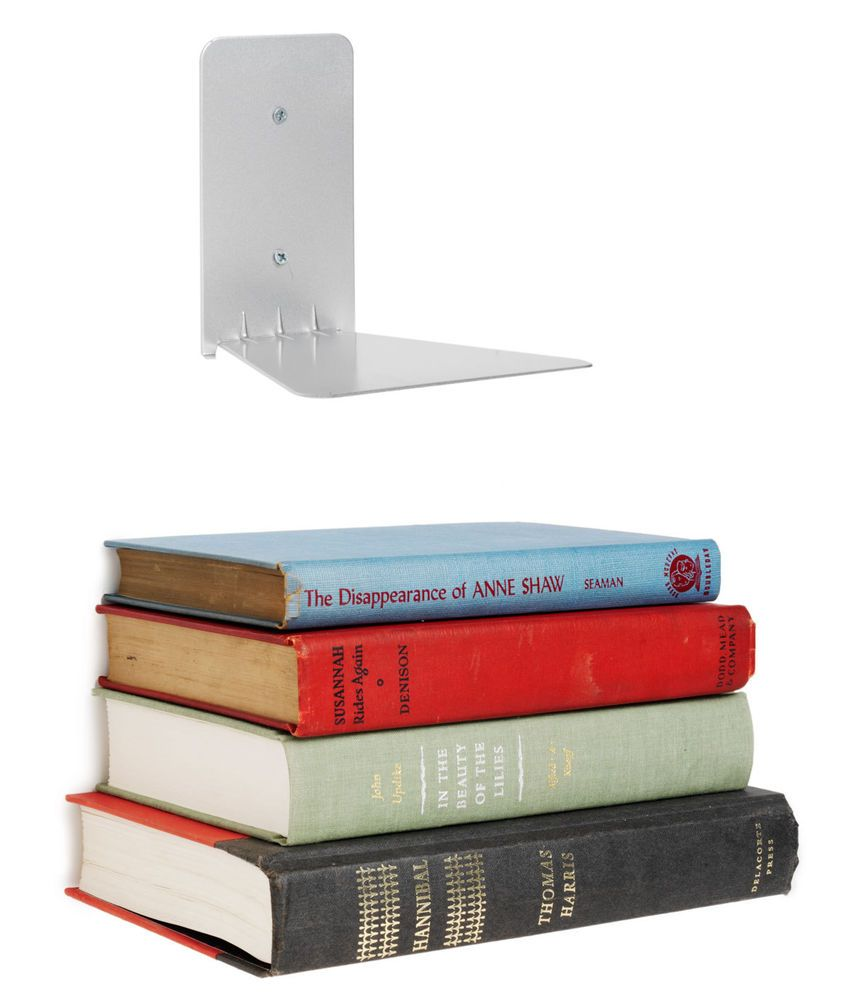 umbra large conceal invisible book shelf