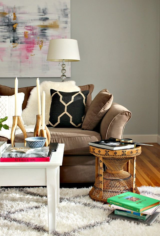 Fall Home Tour | Bliss at Home - love her fresh spin on fall style!