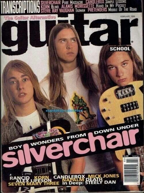 Silverchair! Still my favorite band of all time!