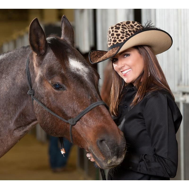ea170e360b9a2 CHARLIE 1 HORSE - Charlie 1 Horse On The Prowl Felt Cowgirl Hat -  NRSworld.com