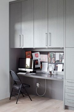 Burnaby Capitol Hill Residence - contemporary - home office ...