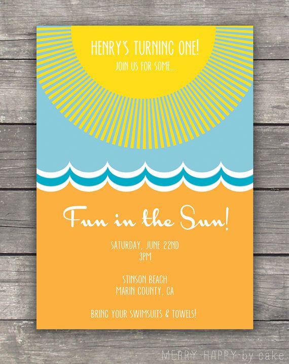 Beach Party Invitation Printable  - fresh formal invitation to judges