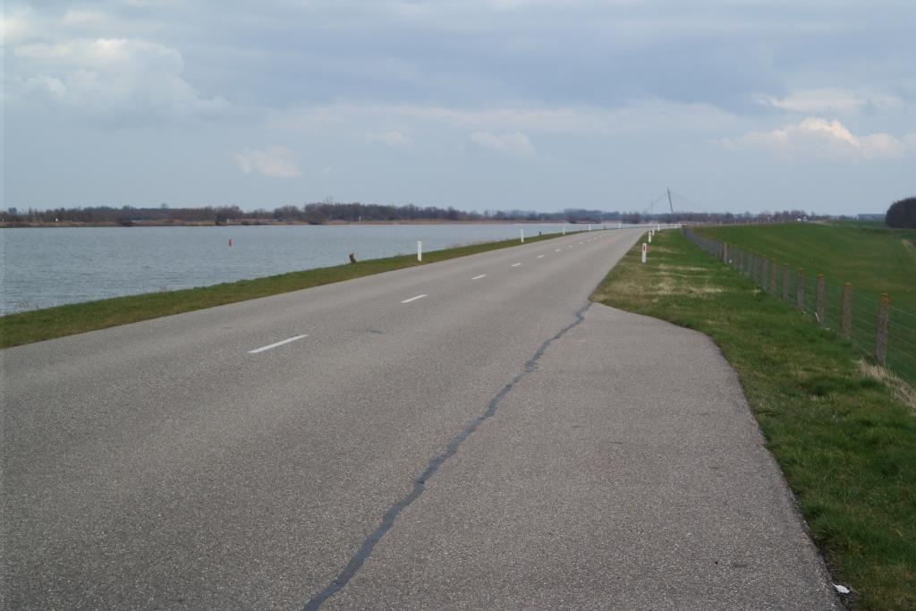 De dijk bij Ketelhaven