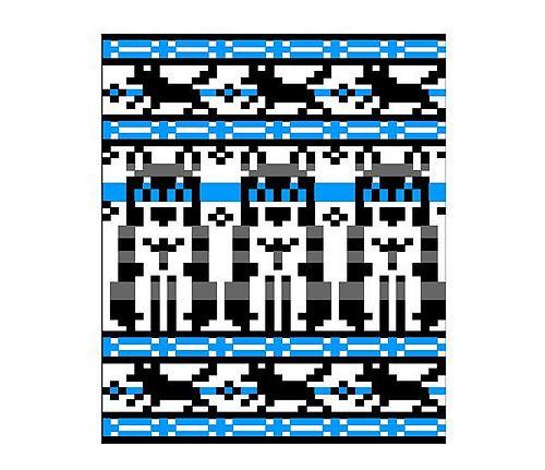 Ravelry: Husky chart pattern by Sandra Jäger | Bordado - Embroidery ...
