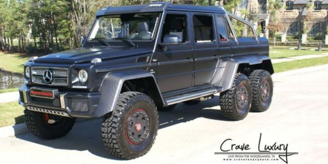 Mercedes 6X6 For Sale >> There S An 850 Hp Mercedes 6x6 For Sale In Texas Awesome