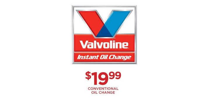 Valvoline 19 99 Oil Change Coupon Oil Change Change Oils