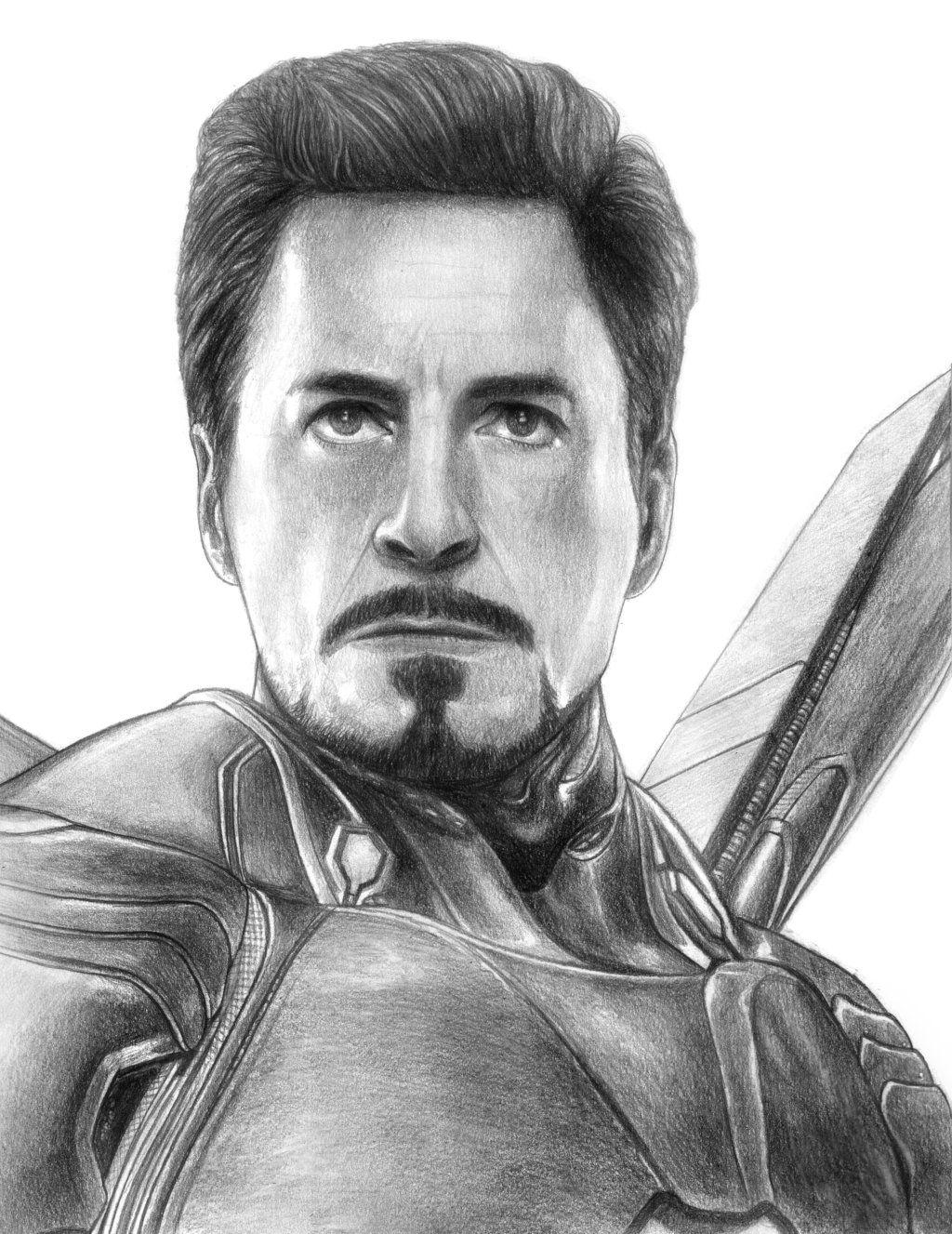 Iron Man Tony Stark Avengers Infinity War By Soulstryder210