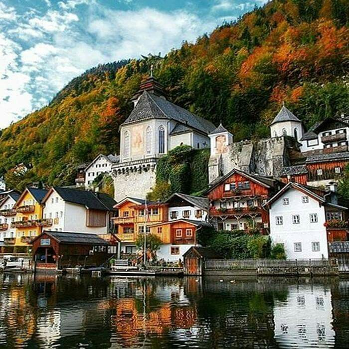 Halstatt, Austria.