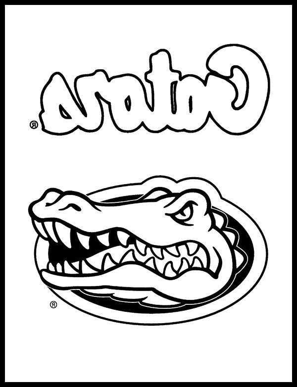 florida gators coloring pages