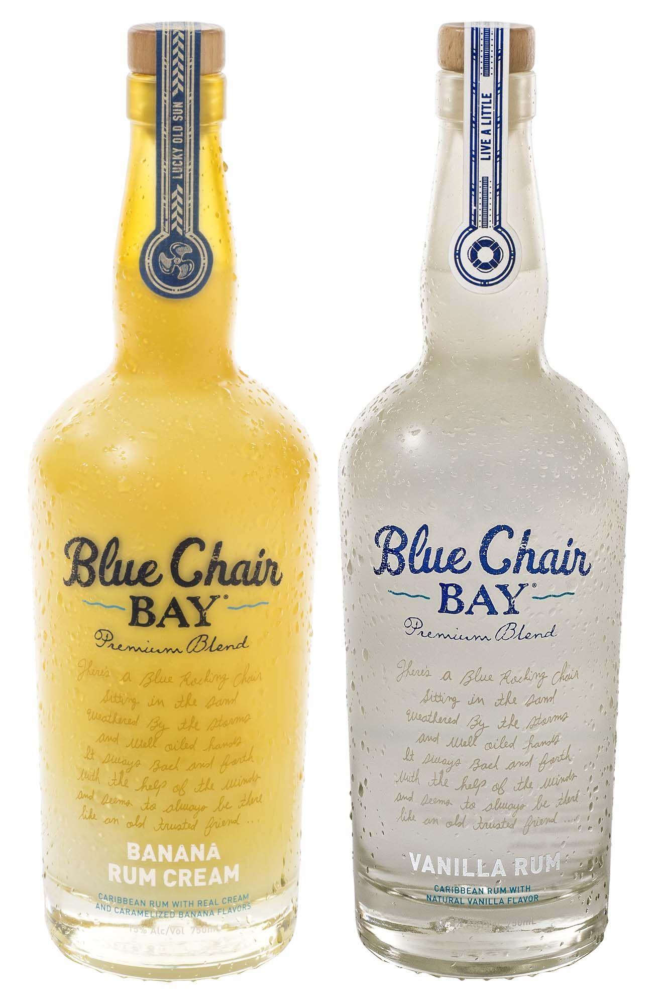 Blue chair bay rum launches vanilla rum and banana rum