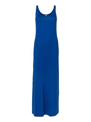 600b5db2a40 The deep ocean blue hue is one of the hottest colours for summer.  blue   summer  dress  veromoda  fashion