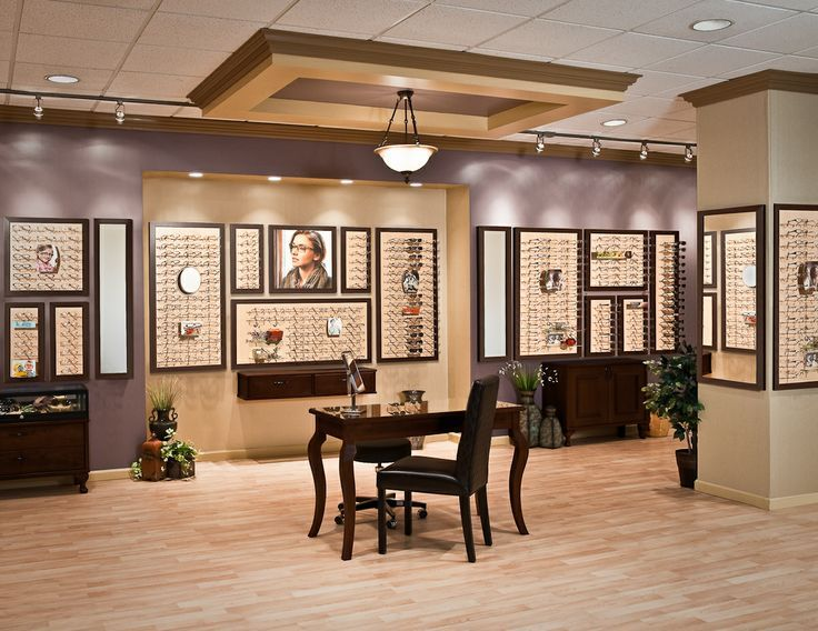 Optometry Office Decorations | Optometry Display | Wall Displays, Mirrors,  Graphics Holders .