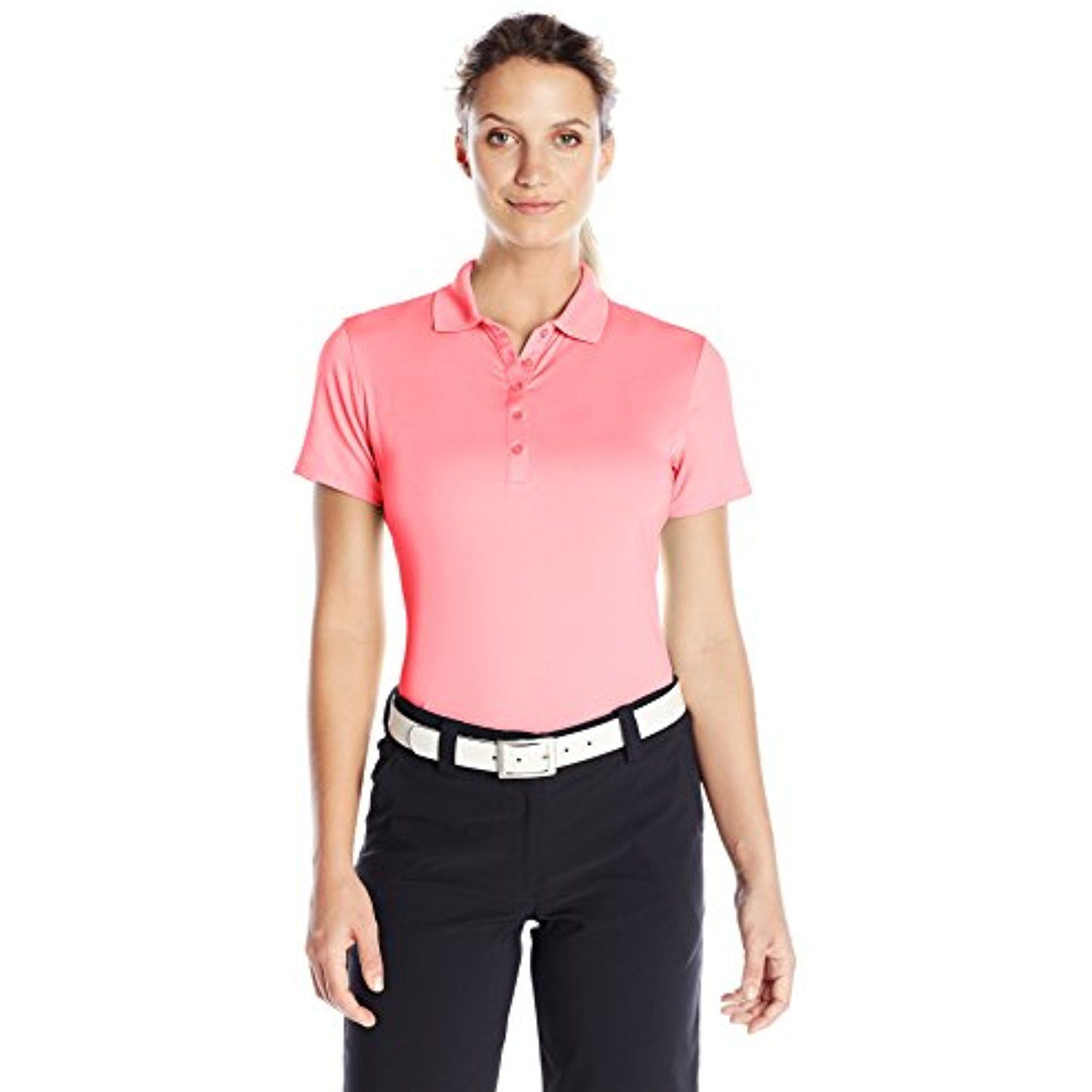 8e99293bc Callaway Women's Short Sleeve Opti-Stretch Polo Tee >>> See this great  product
