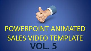 This templates allows you to create a simple 1 – 2 minute sales videos. This is the fifth in a series of 5 pre-formatted Powerpoint templates with 10 – 20 different slides each. Each slide comes with nicely formatted text for things like: your logo, headlines, sub-headlines, bullets, features, etc. Plus each slide has a nice animation transition into the next. All you do is open the templates in Powerpoint, fill in your own text details, and boom you have a nice animated sales video in…