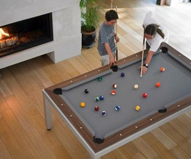 2 In 1 Pool And Dining Table Modern Pool Table Pool Table Dining Table Pool Table