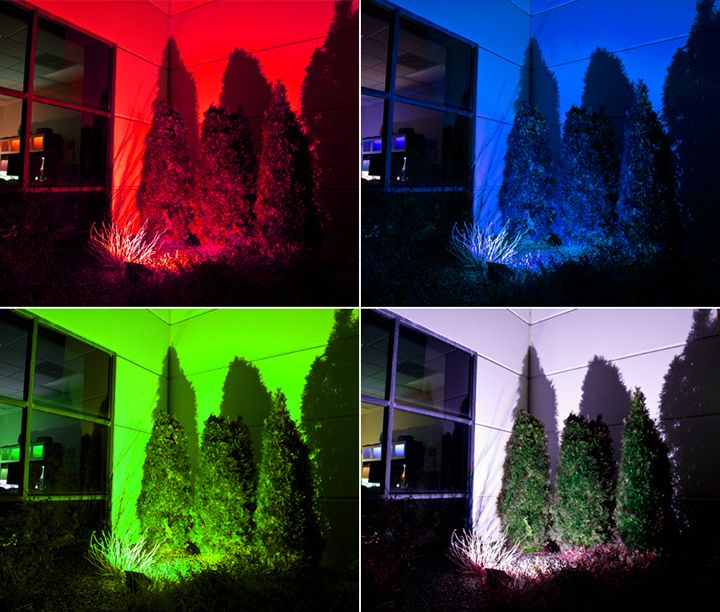 Rgb Red Green Blue Light Emitted Color
