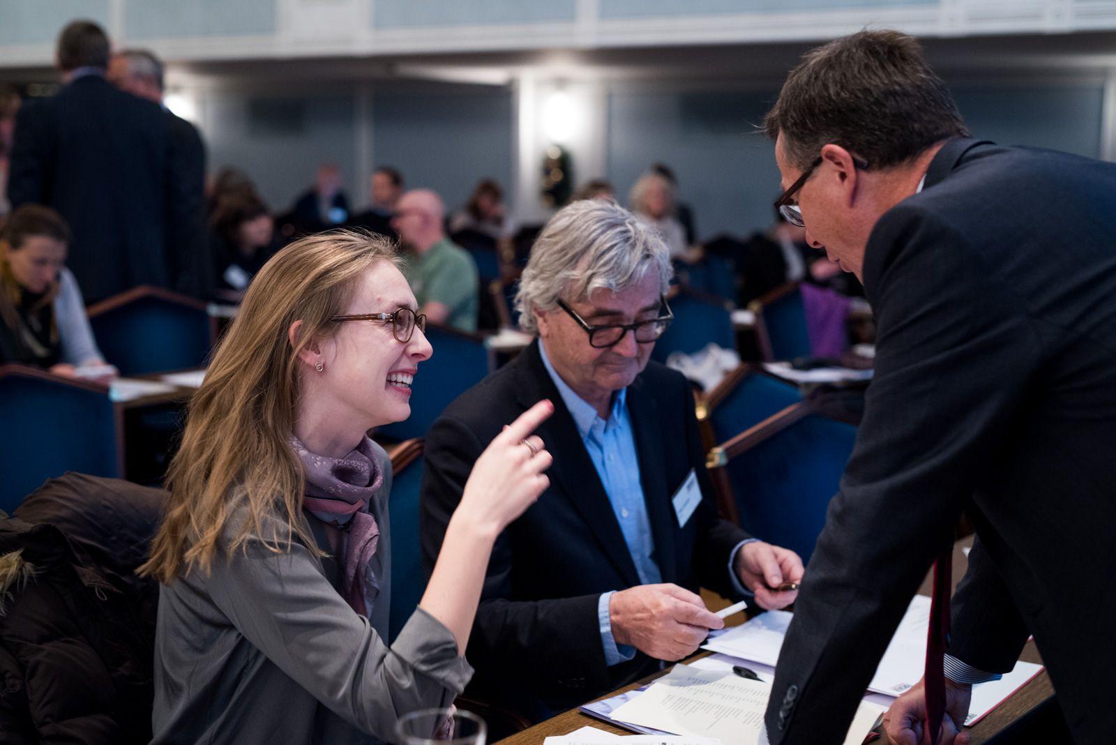 Iselin Nybø (V) slår et slag for en ordningen med faglige mentorer som skal følge studentene gjennom hele studieløpet. Kvalitetsmeldingen sluttbehandles i disse dager. Og NSO er fornøyd med at Venstre trekker fram studentkravet ommentorer.