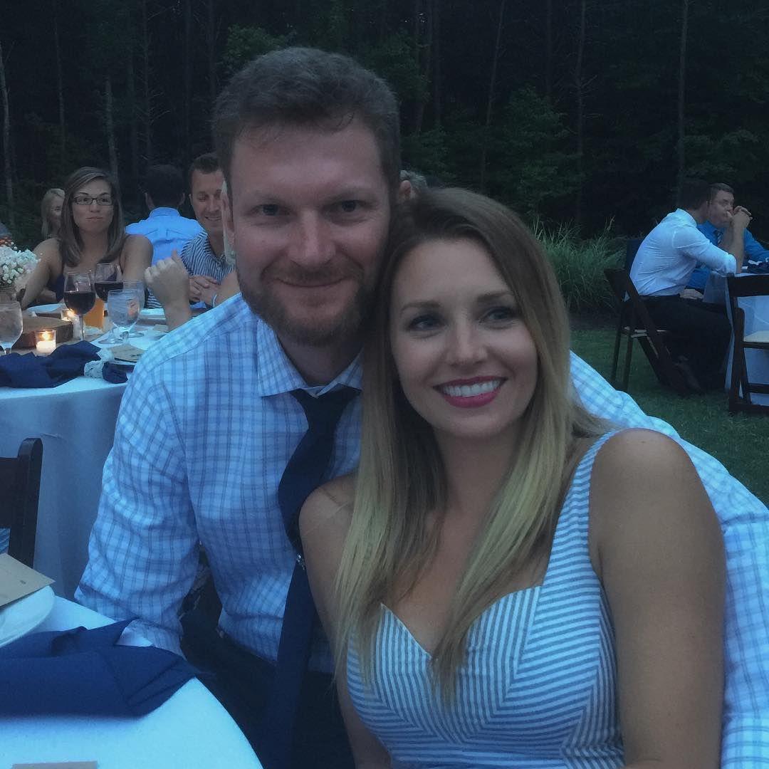 Dale Earnhardt Jr girlfriend Amy Riemann dale jr and amy