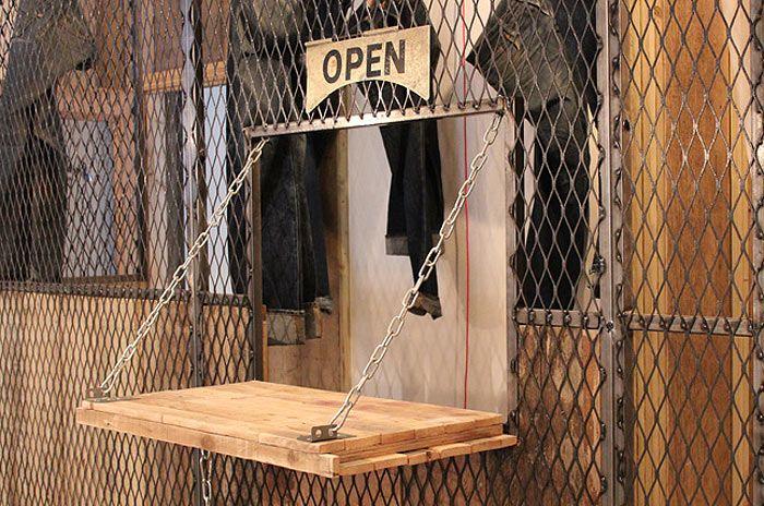 Mobiliario y decoracion de interiores sector retail for Decoracion de interiores locales de ropa