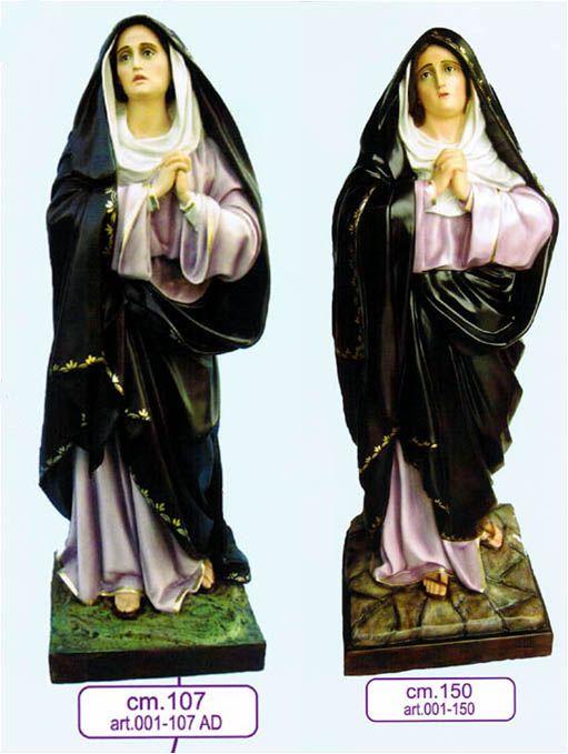 Citta Cattolica: Statue: Madonne in Vetroresina Resina e Gesso