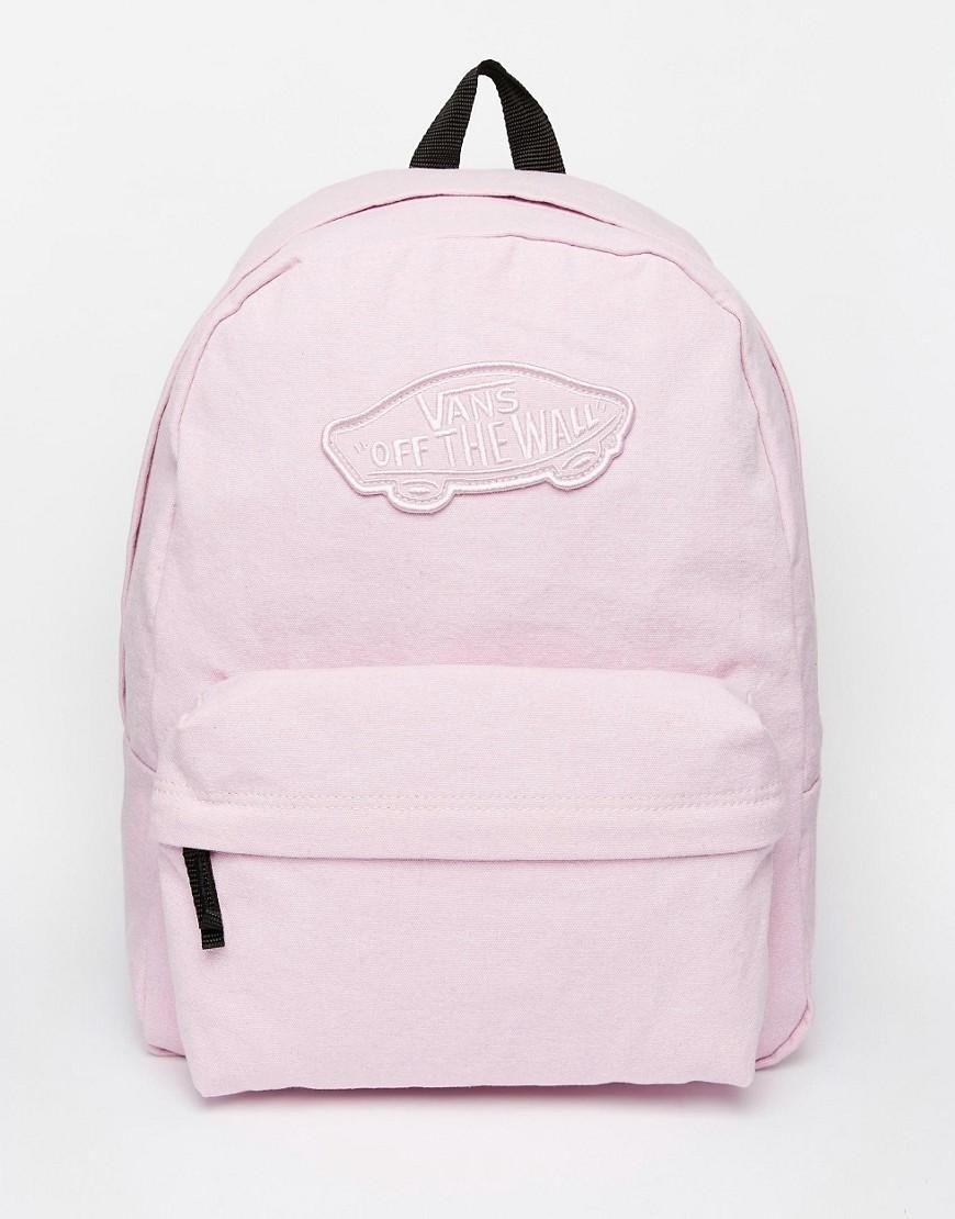 be4f9b82c7d21 Vans Realm Backpack in Pink en 2019