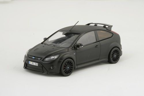 Ford Focus Rs500 2010 Matt Black From Minichamps Ford
