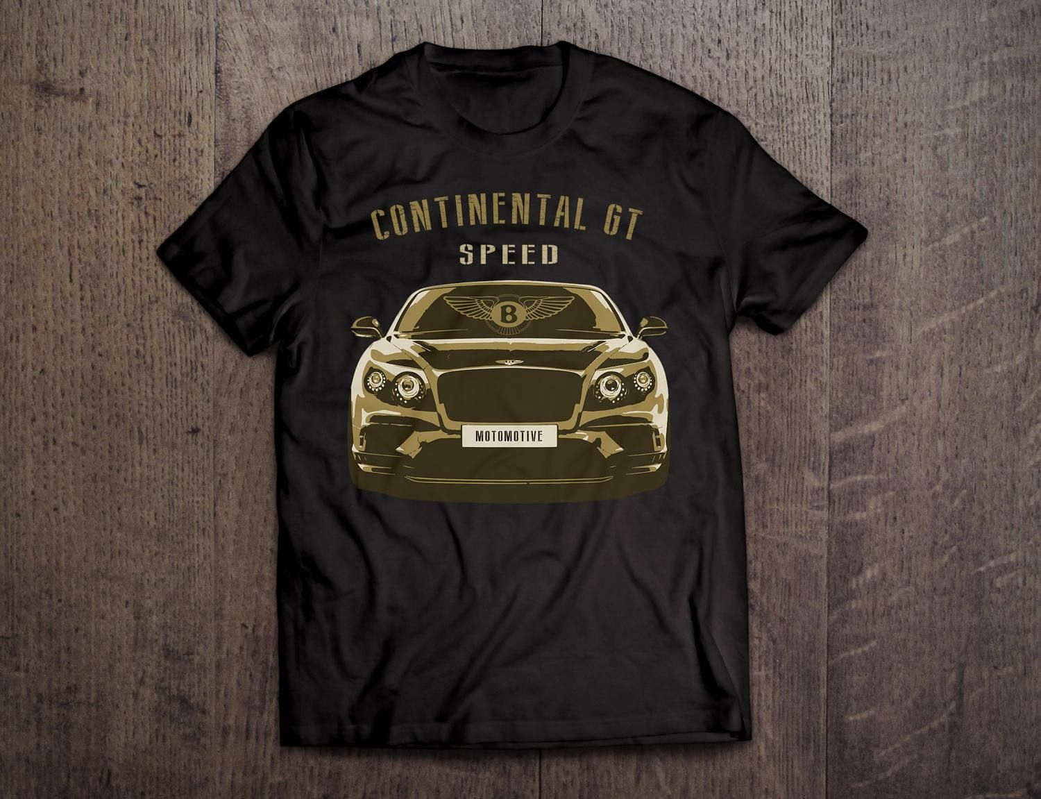 Bentley Continental Gt Bentley Shirts Black T Shirts Car T