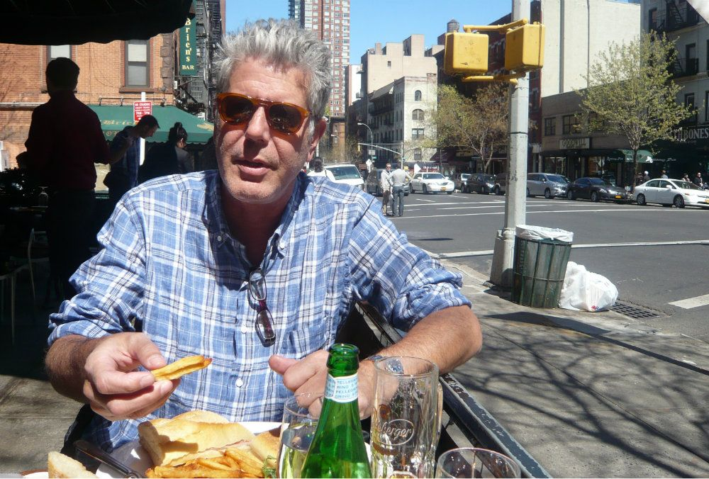 Anthony bourdain no reservations food porn amusing