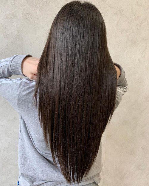 Pin On V Cut Hair