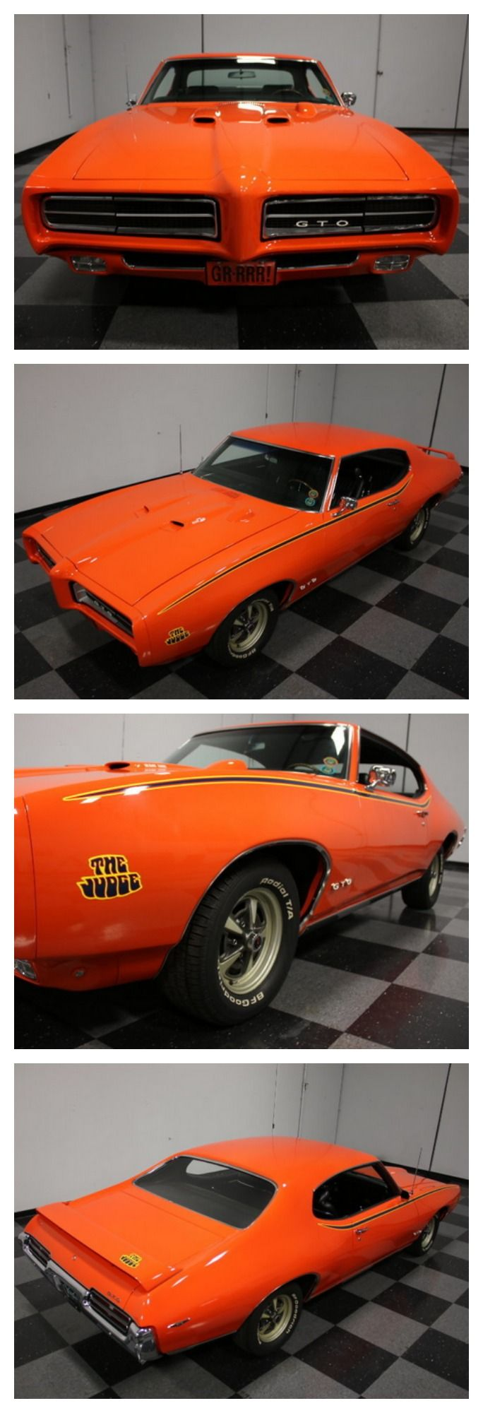 72 Gto Judge For Sale - Vintage Parts For Cars