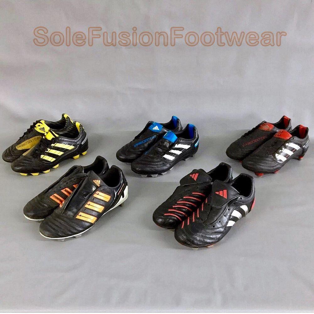 adidas predator scarpe da calcio serie mens / ragazzi joblot scarpini da calcio