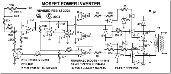 rangkaianinverter1000watt download Pinterest